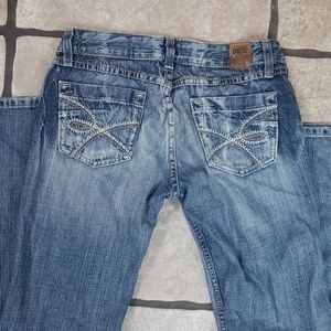 BKE Denim Starlite Distressed Jeans size 28